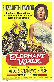 <i>Elephant Walk</i> 1954 film by William Dieterle
