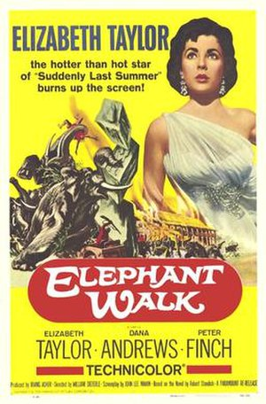 Elephant Walk - Theatrical release poster