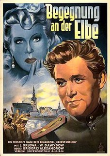 <i>Encounter at the Elbe</i> 1949 film by Grigori Aleksandrov