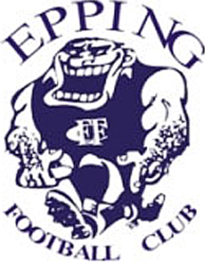 Epping Football Club - Image: Epping Blues Logo