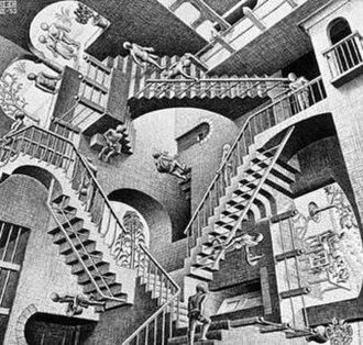Relativity (M. C. Escher) - Image: Escher's Relativity