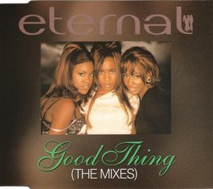 Good Thing (Eternal song) - Image: Eternal Good Thing UK CD2 Cover