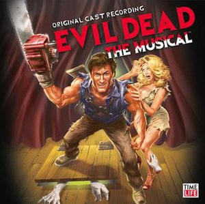 Evil Dead (musical) - Original Off-Broadway cast album cover