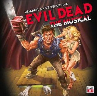 Evil Dead (musical) - Original Off-Broadway cast album cover