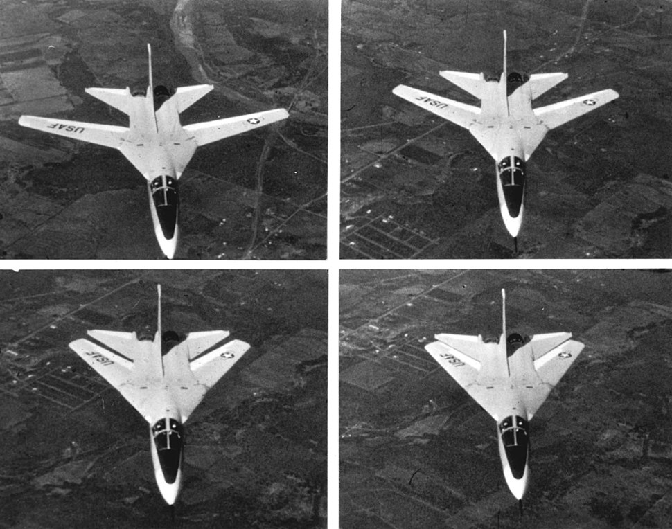 F-111A Wing Sweep Sequence