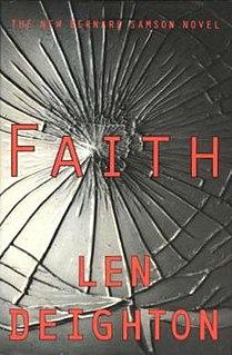 <i>Faith</i> (novel) 1994 novel by Len Deighton