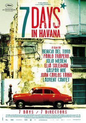 7 Days in Havana - Theatrical release poster