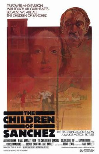 The Children of Sanchez (film) - Image: Film poster for The Children of Sanchez