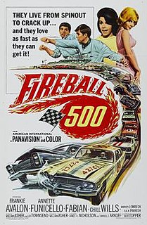 <i>Fireball 500</i> 1966 film by William Asher