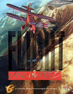 <i>Flight Unlimited</i> 1995 aerobatic flight simulator video game