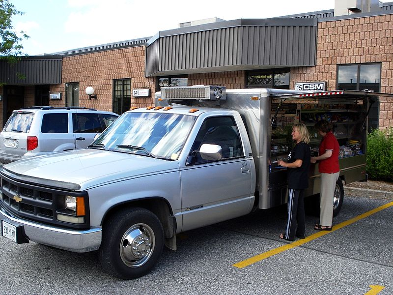File food trucks that are common in ontario for Cuisine 4x4