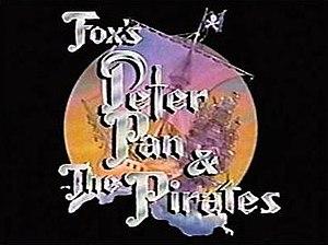 Peter Pan & the Pirates - Title screen