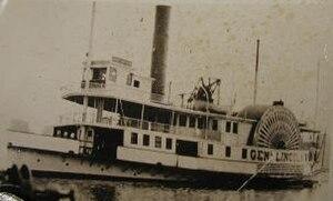 Claiborne–Annapolis Ferry Company - Image: Gen Lincoln ferry