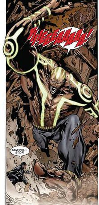 Gentle (comics) - Gentle uses his powers