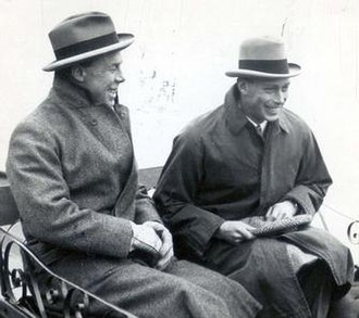 Louis Greig - Greig and  King George VI