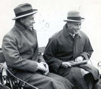 George VI and Louis Greig