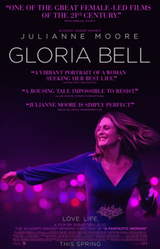 Gloria Bell - Theatrical release poster