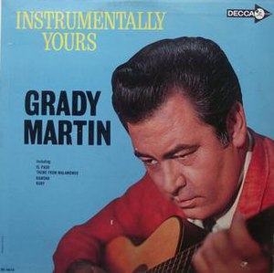 Instrumentally Yours - Image: Grady Martin Instrumentally Yours