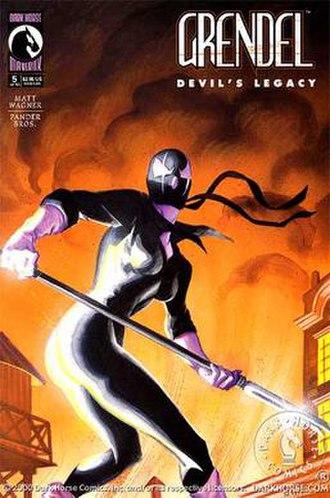 Grendel (comics) - Christine Spar as Grendel; art by Matt Wagner