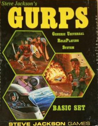 GURPS - GURPS first edition box set