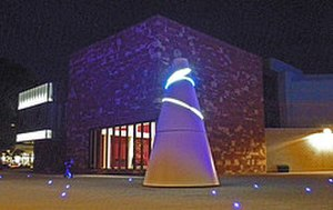 University of Warwick - The Koan in front of the Helen Martin Arts Studio