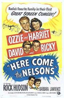 Ĉi tie Venu la Nelsons - Film Poster.jpg