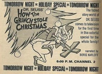 How the Grinch Stole Christmas! (TV special) - Print advertisement