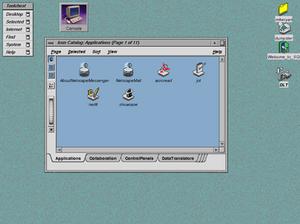 IRIX - Image: IRIX desktop