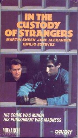 In the Custody of Strangers - Image: In the custody of strangers