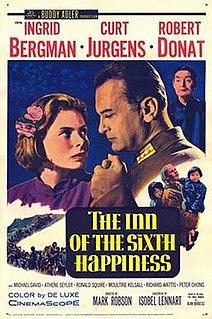 <i>The Inn of the Sixth Happiness</i> 1958 film directed by Parth