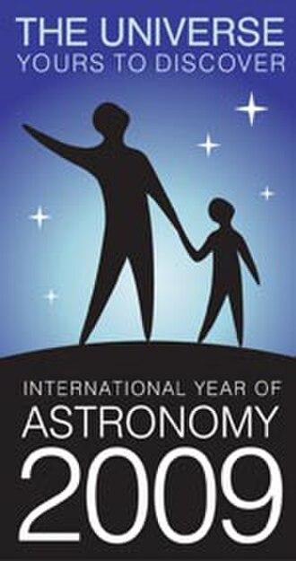 International Year of Astronomy - The IYA2009 logo.