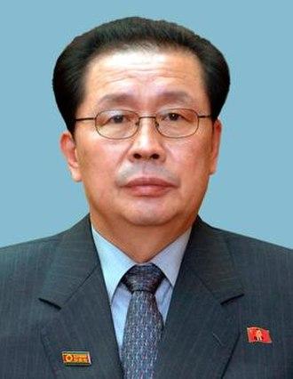 Jang Song-thaek - Image: Jang Sung taek