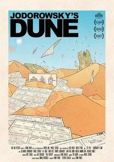 <i>Jodorowskys Dune</i> 2013 documentary film by Frank Pavich about a Dune aborted film project
