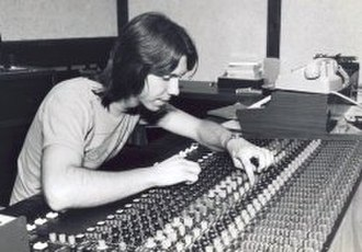 Jonathan David Brown - Brown in 1977, mixing Shotgun Angel in Hollywood