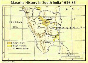 Kanthirava Narasaraja I - South India during the time of Kanthirava Narasaraja I.