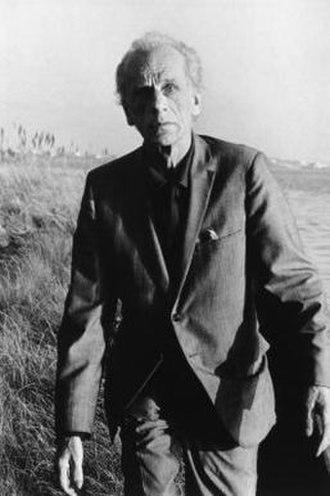 Joseph Cornell - Cornell in 1971