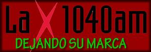 """KXPD (AM) - """"La X"""" branding"""