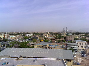 Kerman Province - Kerman, the most populated and capital city of the province.