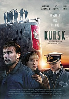 <i>Kursk</i> (film) 2018 film by Thomas Vinterberg