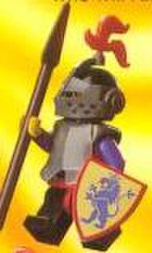 Lego Castle - A Lion Knight minifigure