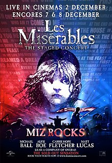 <i>Les Misérables: The Staged Concert</i> Film