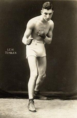 Lew Tendler - Image: Lew Tendler