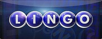 Lingo (U.S. game show) - Image: Lingo logo