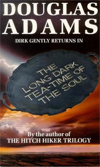 The Long Dark Tea-Time of the Soul - The front cover of the UK first hardcover edition of The Long Dark Tea-Time of the Soul.