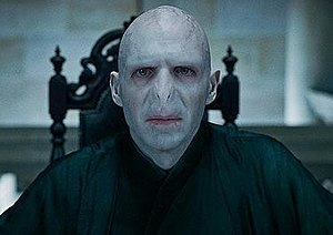 Lord Voldemort - Ralph Fiennes as Lord Voldemort in  Harry Potter and the Deathly Hallows – Part 1.