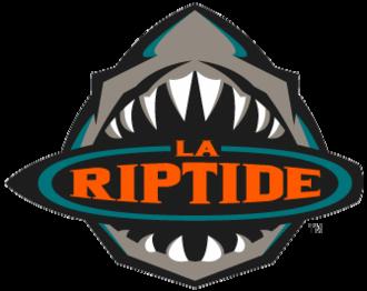 Los Angeles Riptide - Image: Los Angeles Riptide logo