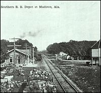Southern Railroad Depot, Madison, AL