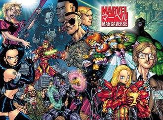 Marvel Mangaverse - Image: Mangaverse 1