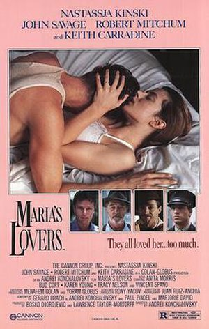 Maria's Lovers - Theatrical release poster