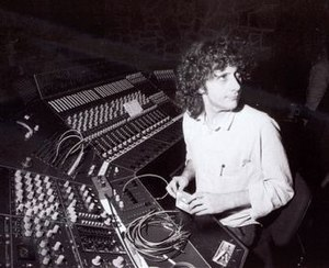 Martin Hannett - Martin Hannett. Photo by Kevin Cummins